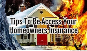 tips to reaccess homeowners insurance