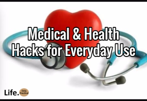 medical and health hacks